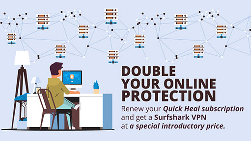 Double your online protection