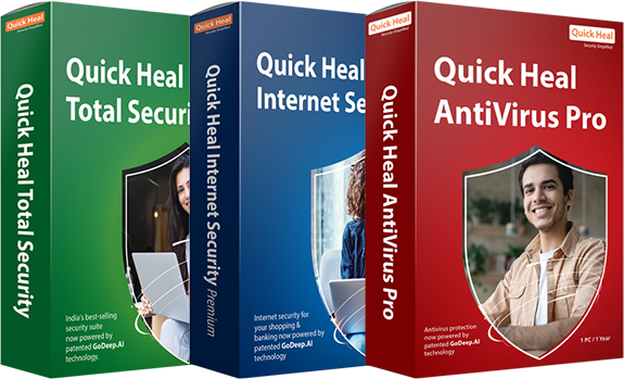 Experience the Power of 3 with Quick Heal 2020